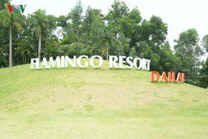 Cận cảnh biệt thự bên trong khu resort Flamingo Đại Lải sang trọng
