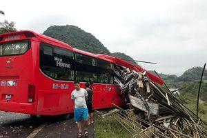 Vụ xe giường nằm tông xe tải chở luồng: Danh tính 16 người thương vong