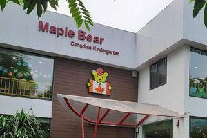 Trường Maple Bear có mấy cơ sở, có hoạt động 'chui'?