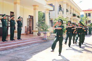 Kiểm tra toàn diện công tác Biên phòng tại Đồn Biên phòng Leng Su Sìn