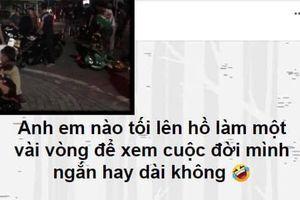 Tổ lái lên Facebook rủ chiến hữu đua xe 'xem cuộc đời dài hay ngắn' và cái kết đắng