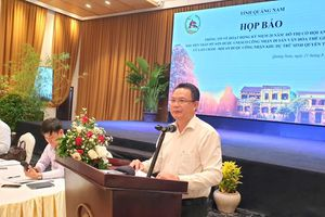 Tiếp tục quảng bá hình ảnh Quảng Nam đến cộng đồng thế giới
