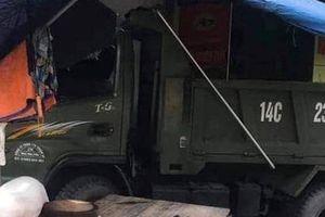 Xe tải mất lái lao lên vỉa hè, 1 người tử vong ở Quảng Ninh