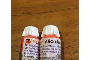 Phát hiện mỹ phẩm Bảo Lâm trắng da ngừa mụn chứa chất cấm gây rậm lông, teo da