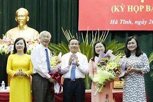 Hà Tĩnh, Lạng Sơn bầu nhân sự mới