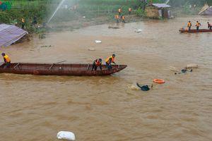 Hơn 1.000 người diễn tập ứng phó lũ quét, sạt lở đất tại Lào Cai