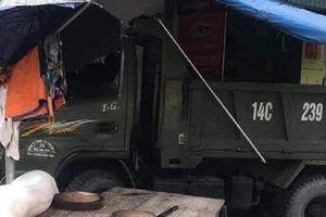Xe tải gây tai nạn liên hoàn ở TP Móng Cái khiến 3 người thương vong