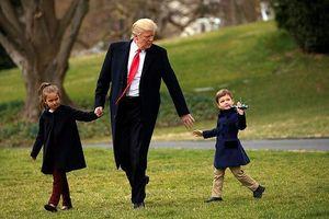 Tổng thống Trump có đứa cháu thứ 10