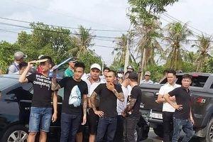 Thông tin mới vụ hàng chục giang hồ vây xe công an ở Đồng Nai