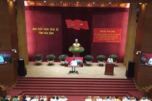 Hòa Bình: Quán triệt, triển khai thực hiện Chỉ thị số 35-CT/TW của Bộ Chính trị