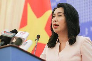 Việt Nam phản ứng trước phát ngôn của Trung Quốc về tàu Hải Dương 8