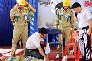 Tập huấn an toàn lao động cho cán bộ Công đoàn