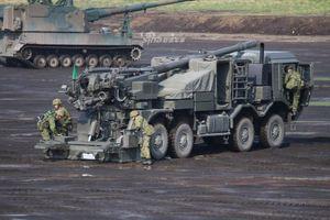 Nhật định danh pháo tự hành bánh lốp trăm triệu USD siêu hoành tráng