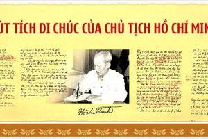 Hơn 700 tư liệu quý trong '50 năm thực hiện Di chúc Chủ tịch Hồ Chí Minh'