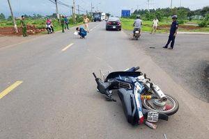 Đồng Nai: Bị yêu cầu dừng xe, người đàn ông hung hãn tông thẳng vào CSGT