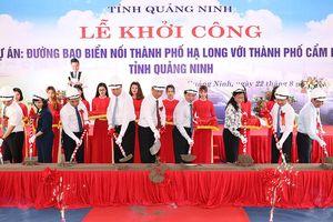 Quảng Ninh khởi công tuyến đường bao biển hơn 1.300 tỉ đồng