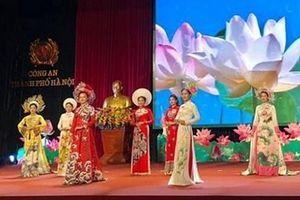 Cán bộ Hội Phụ nữ Công an TP Hà Nội tài năng và duyên dáng