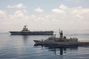 Úc điều khu trục hạm tham gia liên minh của Mỹ trên Eo biển Hormuz