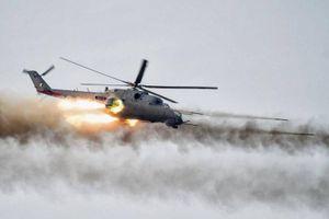 Trực thăng Nga không kích phiến quân ở Latakia, yểm trợ đắc lực cho quân đội Syria