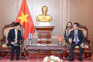 Lãnh đạo VKSND tối cao tiếp Đoàn đại biểu Cơ quan Tổng Chưởng lý Thái Lan