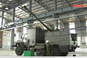 Pháo tự hành PTH85D44-VN18 'made in Vietnam' mạnh cỡ nào?