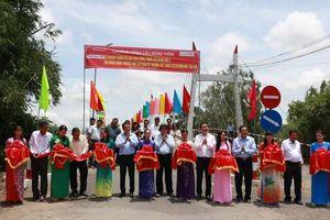 Khánh thành 11 cây cầu nông thôn ở An Giang