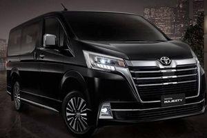 Xe Van hạng sang Toyota Majesty chính thức ra mắt, giá từ 1,28 tỷ đồng