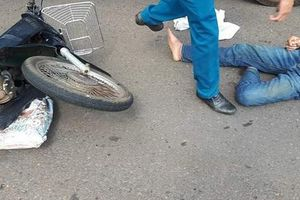 Lại một Thượng úy CSGT bị đối tượng vi phạm giao thông tông nứt xương chậu