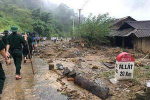 Thanh Hóa: Nỗ lực tìm kiếm nạn nhân mất tích nghi do mưa lũ