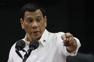 Tổng thống Duterte: Không nói về phán quyết Biển Đông đừng hội đàm