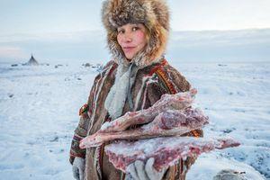 Bộ lạc du mục Siberia giữa cánh đồng băng giá khổng lồ