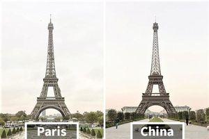 Loạt công trình nổi tiếng thế giới bị Trung Quốc 'đạo nhái' không thương tiếc