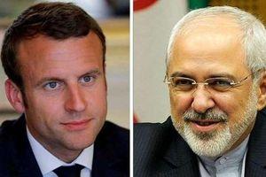 Trước thềm thượng đỉnh G7, Tổng thống Pháp gặp Ngoại trưởng Iran