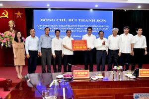 Thứ trưởng Thường trực Bùi Thanh Sơn thăm, làm việc tại tỉnh Sơn La