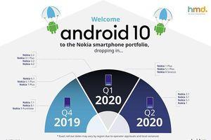 HMD Global tiết lộ kế hoạch phát hành Android 10 cho smartphone hiện có