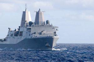 Đang căng thẳng, Mỹ điều tàu chiến đi qua Eo biển Đài Loan
