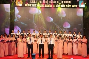 Cơ quan Tập đoàn giành giải Nghệ thuật đặc biệt xuất sắc tại Liên hoan 'Tiếng hát Những người đi tìm lửa' khu vực phía Bắc.