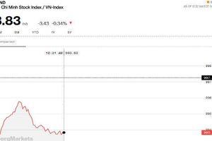 Chứng khoán sáng 23/8: Ngân hàng 'lặn mất tăm', các bluechip khác không chịu nhập cuộc