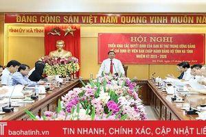 Chuẩn bị tốt tổng kết 10 năm xây dựng nông thôn mới ở Hà Tĩnh dự kiến vào tháng 9 tới