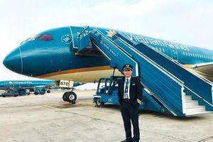 Cơ trưởng: Cầm lái 'siêu tàu bay' Boeing 787-10 có phần đặc biệt