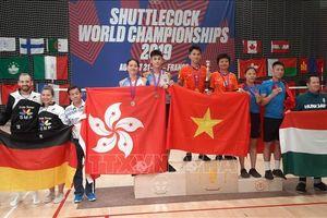 Việt Nam thể hiện đẳng cấp vượt trội tại Giải vô địch đá cầu thế giới