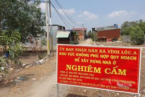 Kỷ luật nhiều tổ chức, cá nhân liên quan đến đất đai tại huyện Bình Chánh