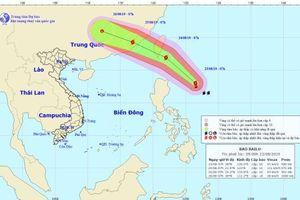 Ngày 23/7: Bão BaLu cách đảo Lu-dông khoảng 450km về phía Đông
