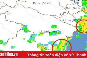 Cảnh báo mưa rào, dông, sét, lũ quét ở Thanh Hóa