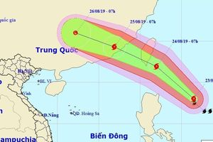 Bão Bailu tăng tốc, giật cấp 12 sắp vào Biển Đông