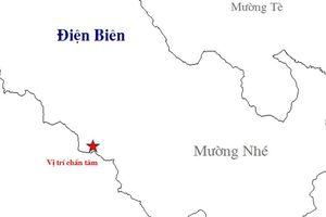 Động đất 2,8 độ richter tại Điện Biên