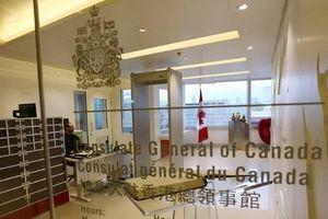 Lãnh sự quán Canada tại Hồng Kông hạn chế cho nhân viên sang Trung Quốc đại lục