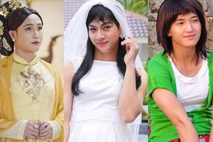 Sao nam Việt giả gái trên phim: Người xinh hết phần thiên hạ, kẻ xấu ma chê quỷ hờn