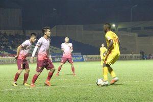 Vòng 22 V-League: Hai bàn thắng giúp Câu lạc bộ Sài Gòn giành 3 điểm