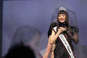 Nhan sắc gây tranh cãi của Hoa hậu Hoàn vũ Nhật Bản 2019